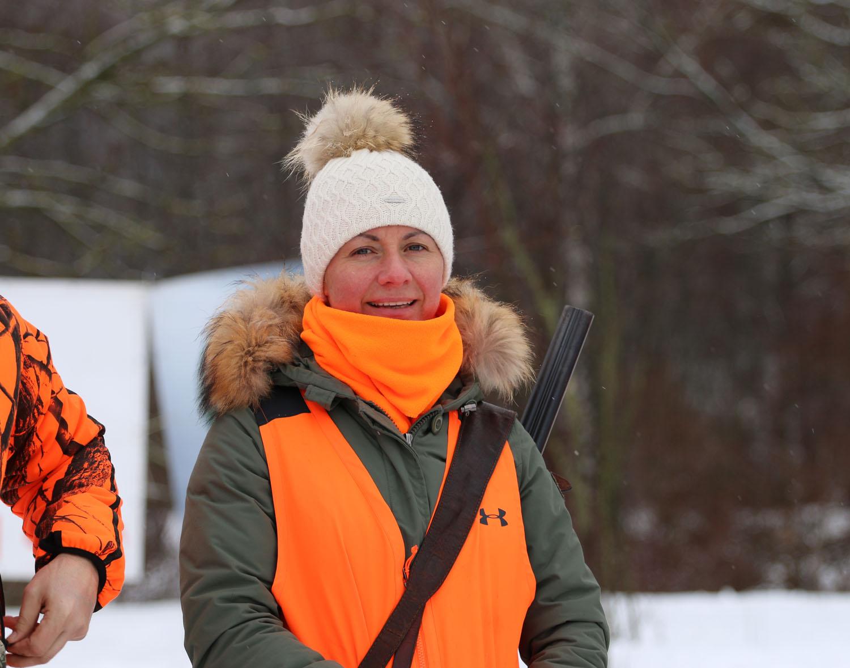 Ольга Чернова на состязаниях